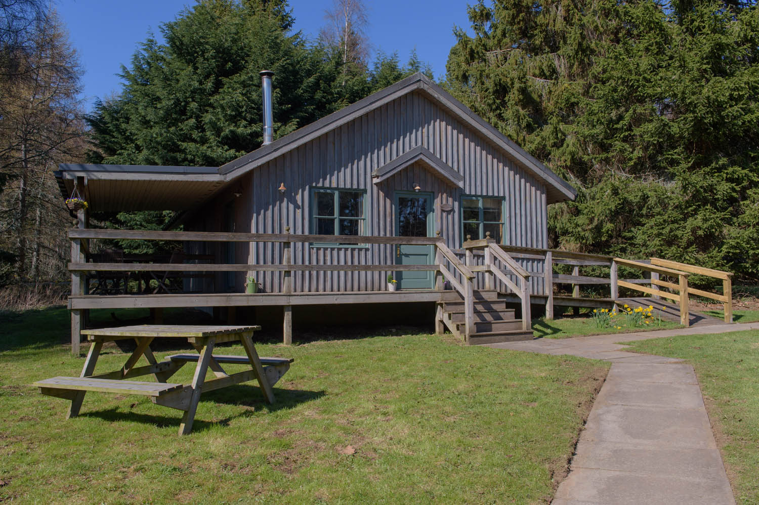 Holiday chalets in Aberdeenshire